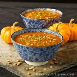 Chicken, Pumpkin and Red Capsicum Soup recipe