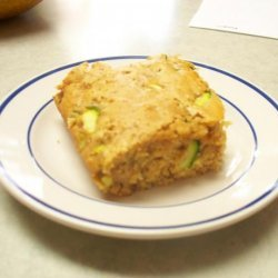 Molasses Zucchini Cake recipe
