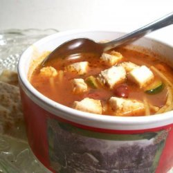 Minestrone With Tofu recipe