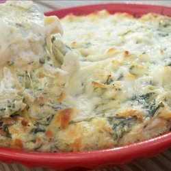 Hot Artichoke and Spinach Dip recipe