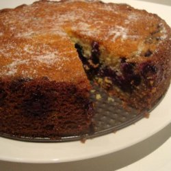 My Mom's Magnificent Blueberry Cake recipe