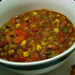 Spicy Garden Chili recipe