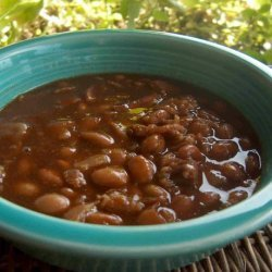 --V's Kicked up Baked Beans (Slow Cooker) recipe