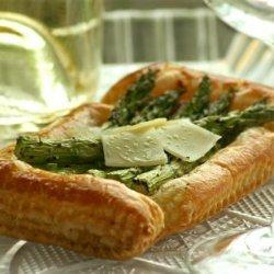 Asparagus Tarts recipe