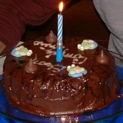 Double Layer Chocolate Cake With Mocha Icing recipe