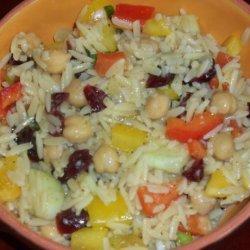 Cranberry Orzo Salad recipe