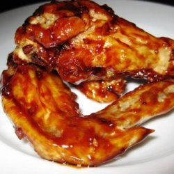 Honey Garlic Chicken Wings recipe