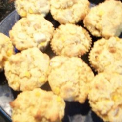 Apple and Cheddar Corn Muffins recipe
