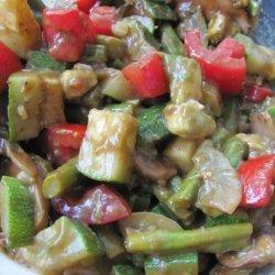 Asparagus Avocado Medley recipe