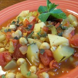 Middle Eastern Vegetable Stew recipe