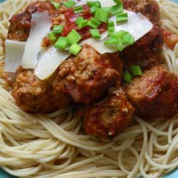 Spaghetti and Meatballs Italian recipe