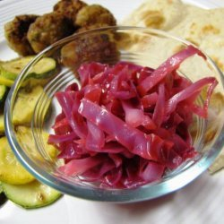 Cabbage Salad (Middle East, Palestine) recipe