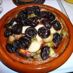 Beef and Prunes a La Tajine/Tagine recipe