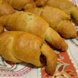 Almost Instant Tomato Basil Crescents recipe