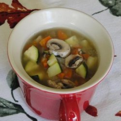 Vegetable Soup for One recipe