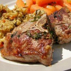 Grilled Marinated Lamb Chops recipe