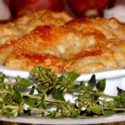 Shallot and Garlic Tarte Tatin With Parmesan Pastry recipe
