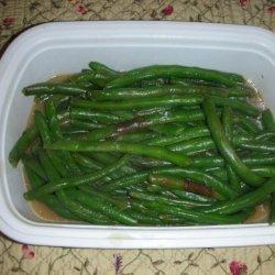 German Style Green Beans (Grune Bohnen) recipe