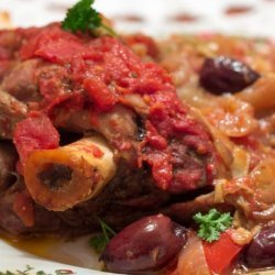 Artichoke and Lamb Shanks Crock Pot Dinner recipe