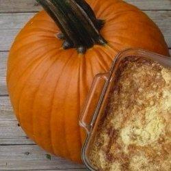 Pumpkin Pie Crunch W/O Nuts recipe