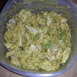 Chicken Salad Curry With Na'an recipe