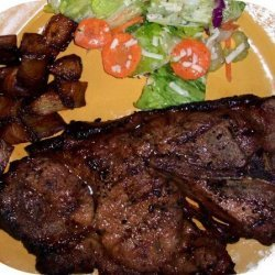 Grilled Teriyaki Pork Chops recipe