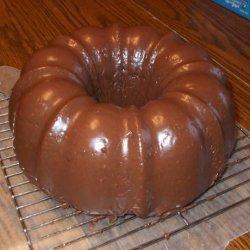 Chocolate Bundt Cake Glaze recipe