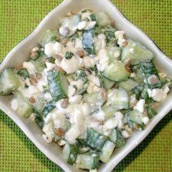 Quick Cottage Cheese Salad recipe
