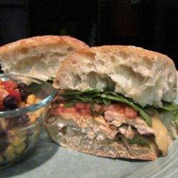 Caesar Grilled Chicken Sandwiches recipe