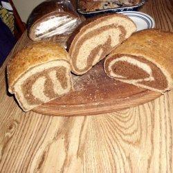 Marble Rye Bread recipe