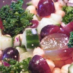 Broccoli, Grape and Chickpea Salad recipe