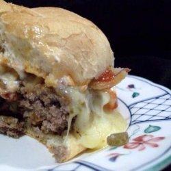 Bite Ya Back Bacon Cheese Burgers recipe