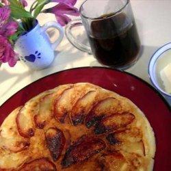 Grandma Schatz Apple Pancakes recipe