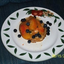 Fresh Peach and Blueberry Compote recipe