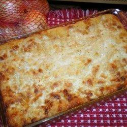 Cornbread Onion Shortcake recipe