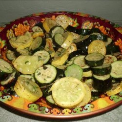 Zucchini with Mint recipe