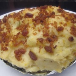 Bacon, Cheddar, Sour Cream and Chive, Twice Baked Potatoes recipe