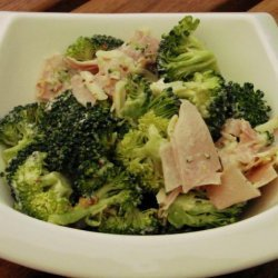 Lunchbox Broccoli, Ham & Cheese Salad recipe