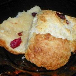 Orange Cranberry Scones recipe