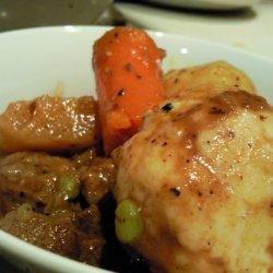 Cheese & Chive Dumplings. recipe