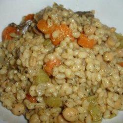 Chickpea and Vegetable Barley Bake recipe