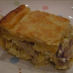 Chicken and Cheese Pie recipe