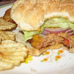 Chicken Chili Burgers recipe