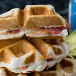 Cheese Waffles recipe