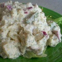 Mustard Dill Potato Salad recipe