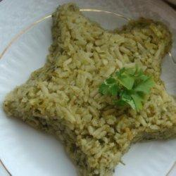 Arroz Verde Mexicano recipe