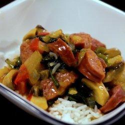 Sweet & Sour Kielbasa recipe