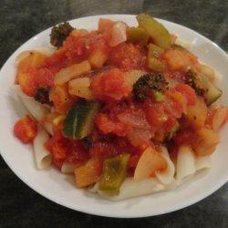 Mediterranean Pasta Sauce for Penne recipe