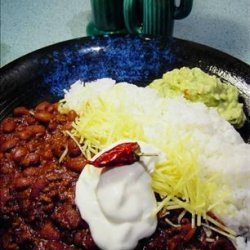 Just the Way We Like It Chili recipe