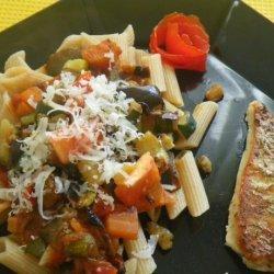 Roasted Vegetable Pasta recipe